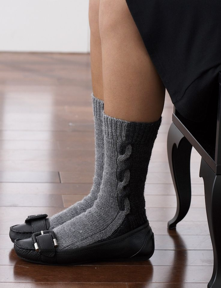 Yarnspirations.com - Patons Half 'n Half Socks - Patterns  | Yarnspirations
