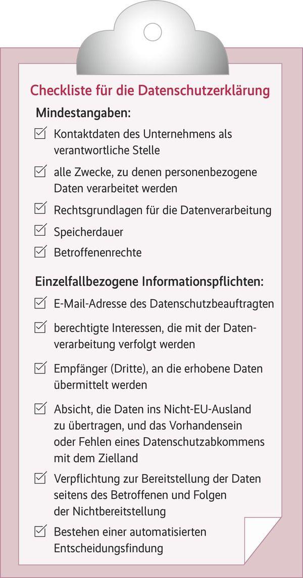Die Datenschutzerklarung Handlungsbedarf Fur Unternehmen Dsgvo Briefkopf Vorlage Businessplan Vorlage
