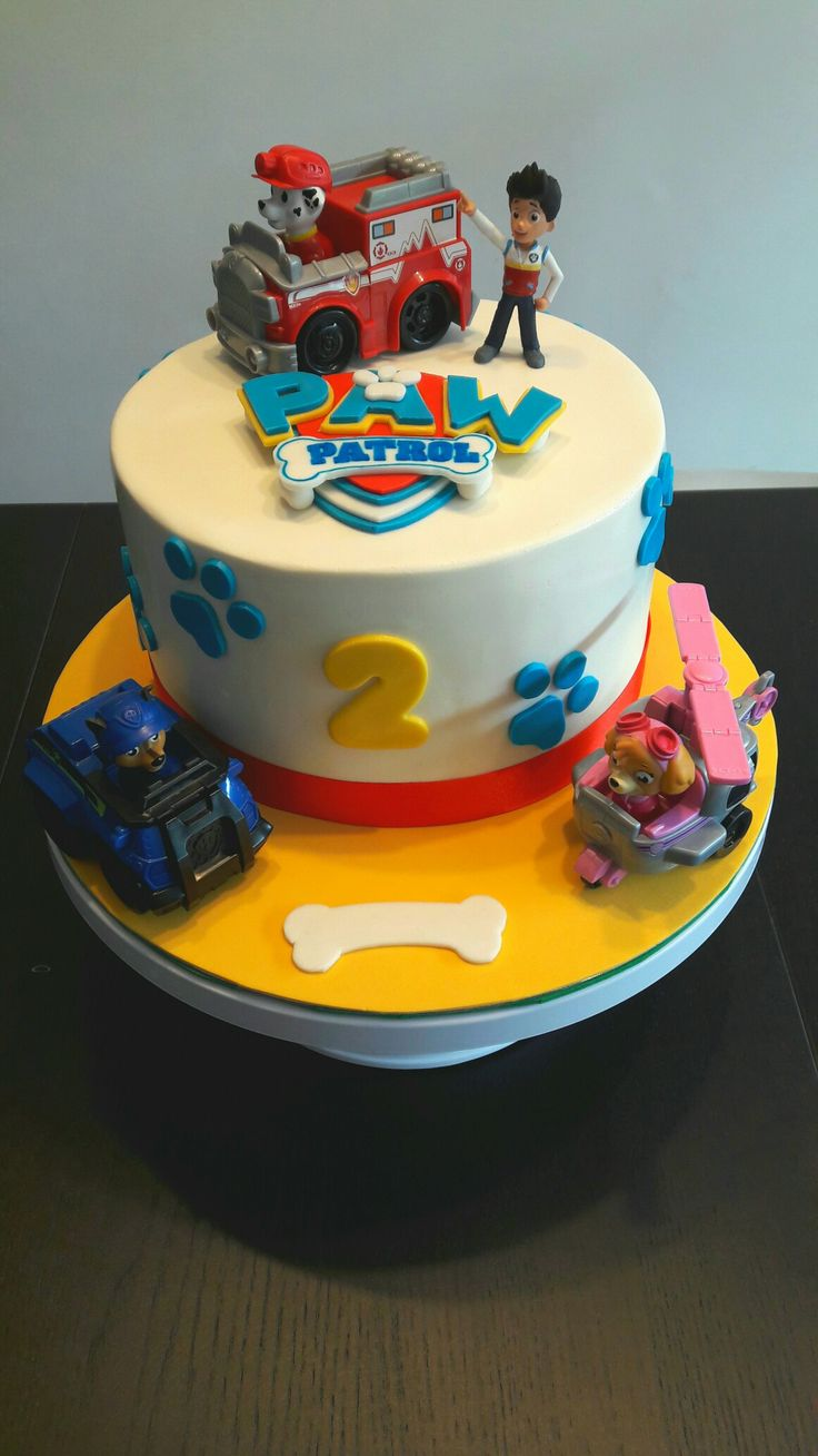 Tarta de la Patrulla Canina - Pow Patrol Cake