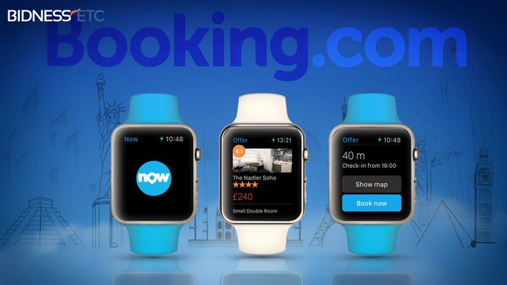 """Apple Watch Gets """"Booking Now"""" App By Booking.Com"""