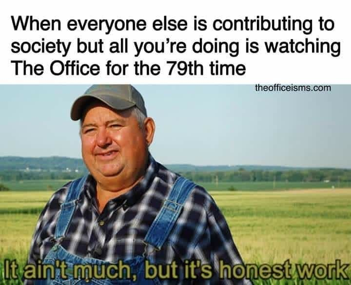 3 771 Likes 34 Comments The Office Theoffice Fanatic On Instagram Just Contributing To Society In My Own Way Lisa Really Funny Memes Funny