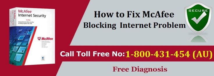 McAfee unblock internet access issue feel free to contact #McAfee support number 1-800-431-454 #Australia for best quick online assistance.