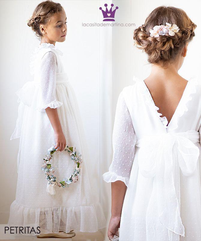 c5391f0f9 ♥ Vestidos de COMUNIÓN 2019 by Petritas ♥ Blog moda infantil ...