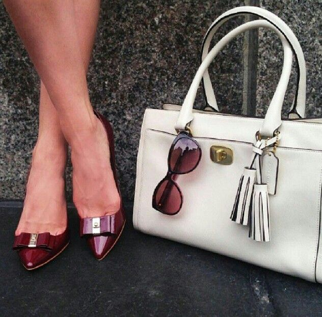 Perfect shoes and bag