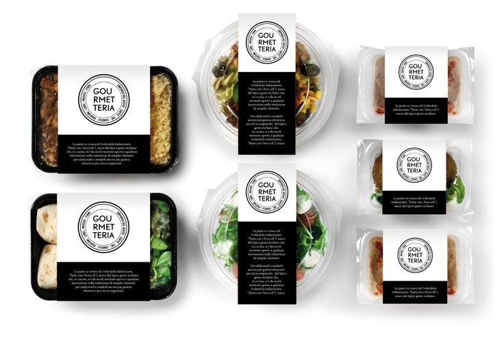 Branding food project by Hangar Design Group