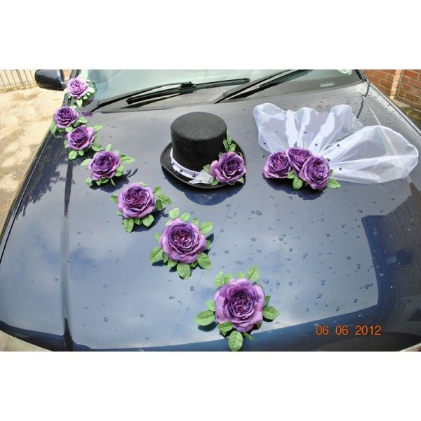 composition florale de voiture 600 600 mariage pinterest best wedding cars. Black Bedroom Furniture Sets. Home Design Ideas