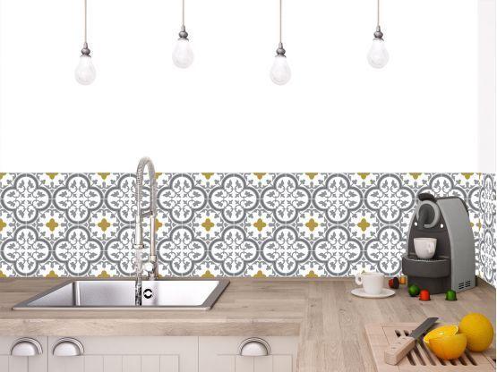 Credences Adhesives Pour La Cuisine Salle De Bain Legrandcirque Le Grand Cirque In 2020 Adhesive Tiles Diy Bathroom Decor Adhesive