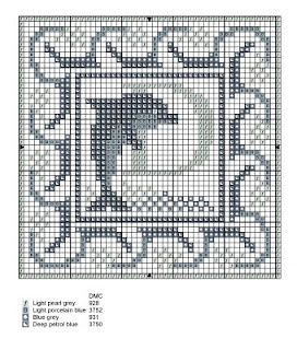 Monogramas para bordar em ponto cruz | Ponto Cruz-Cross Stitch-Punto Cruz-十字绣-Punto Croce-Kreuzstitch-Point de Croix-вышивк