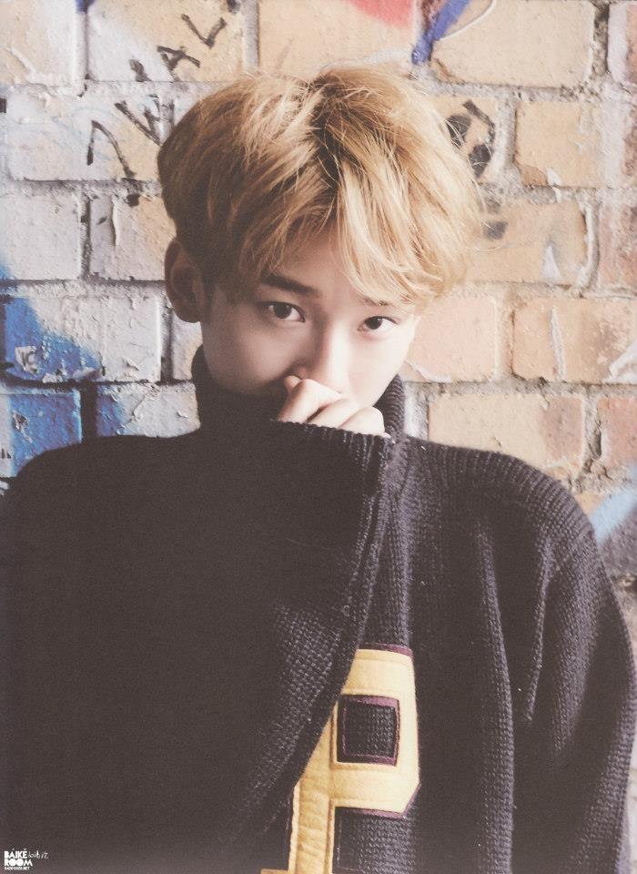 Chen cute.. oppa <3