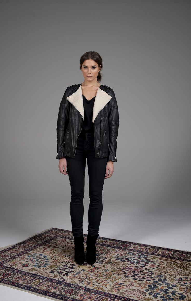 Janie Leather Jacket  http://www.twisttango.com/janie-leather-jacket-black