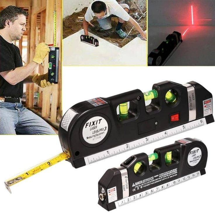 his MultiPurpose Laser Leveler is perfect for hanging