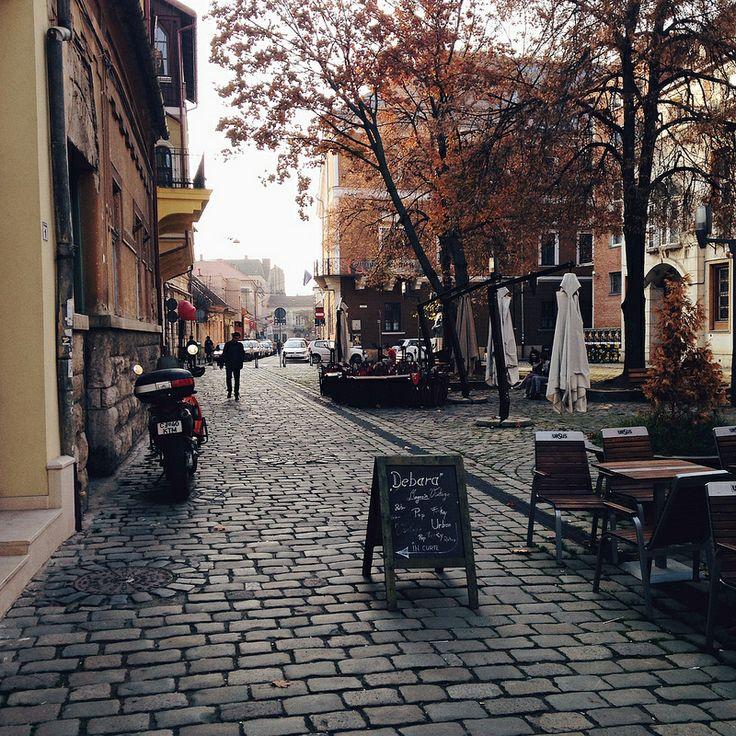 November in Cluj-Napoca, Romania