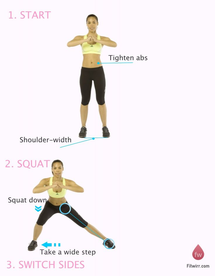48 best images about Squat Workouts on Pinterest