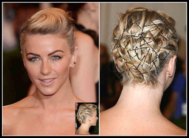Silvester Frisuren Selber Machen Kurze Haare Stylen Wie Julianne