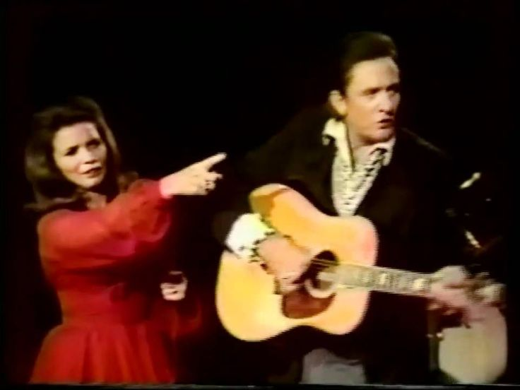 "Johnny Cash and June Carter -  ""Jackson"" .. Live performance and so good....love the chemistry between them!!"