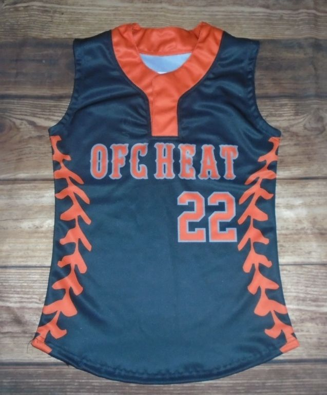 4cfe0cce6 Take a look at this custom jersey designed by OFC Heat Softball and created  at All Star Sportswear in Cincinnati
