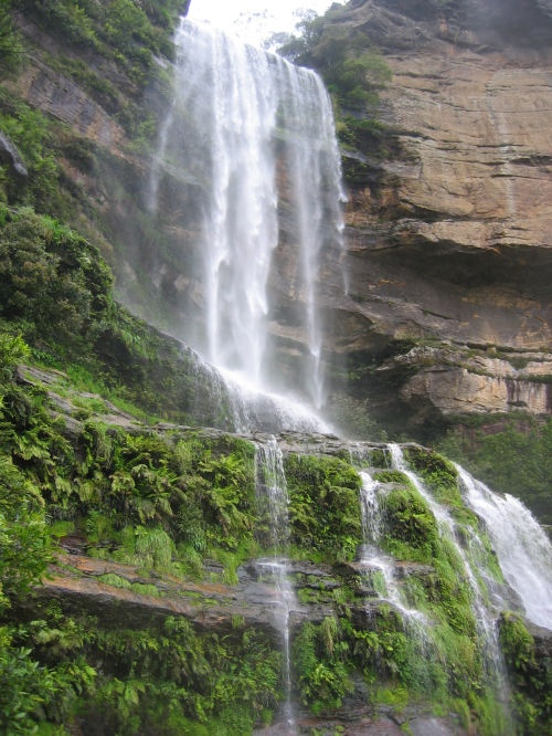Waterfall in the Blue Mountains Austraila