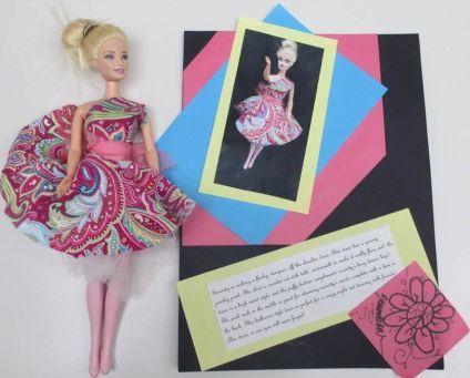 Fashion Barbie Draping Project Familyconsumersciences