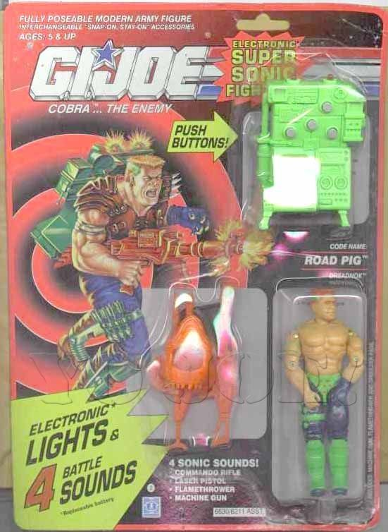 Road Pig (v2) G.I. Joe Action Figure - YoJoe Archive