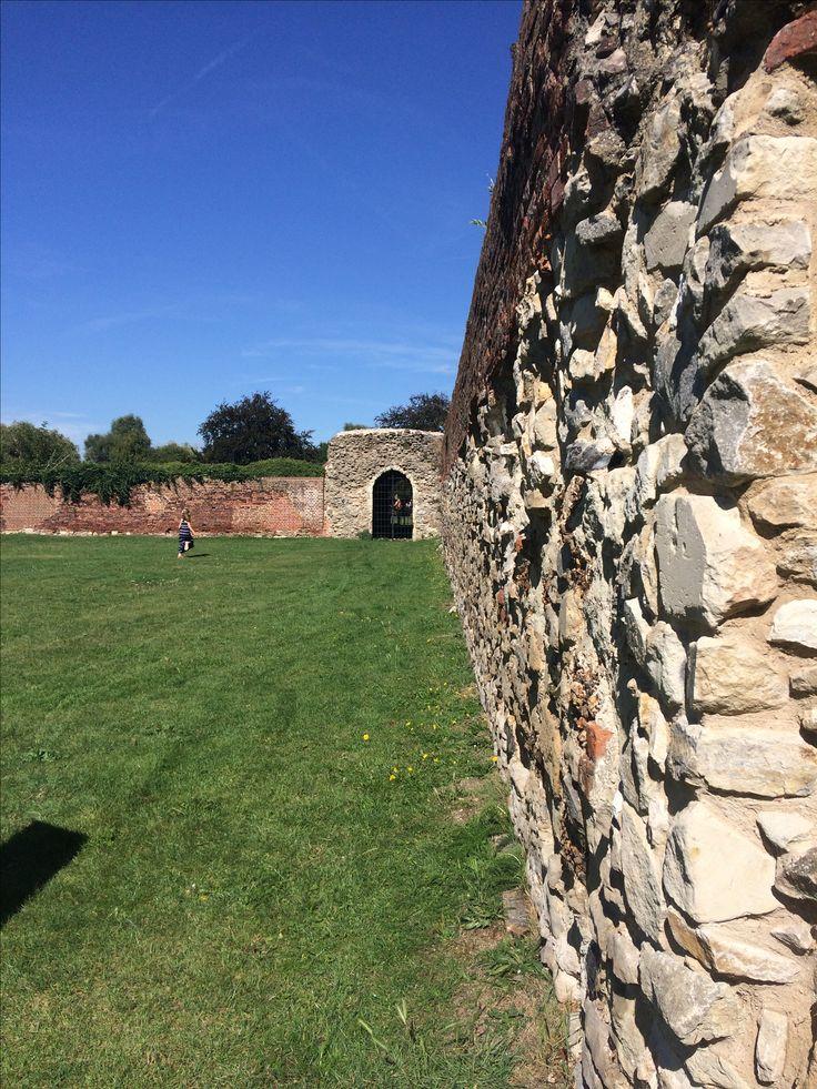 Waltham Abbey on a sunny day