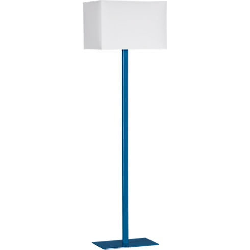 john peacock blue floor lamp in floor lamps | CB2