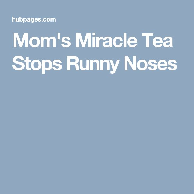 Is there something as a TEA NOSE?