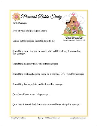personal bible study form womens ministry pinterest bible study and bible study tips