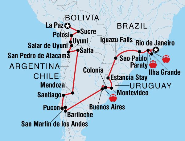 Best Chile Images On Pinterest Chile Patagonia Camping And - Argentina map small