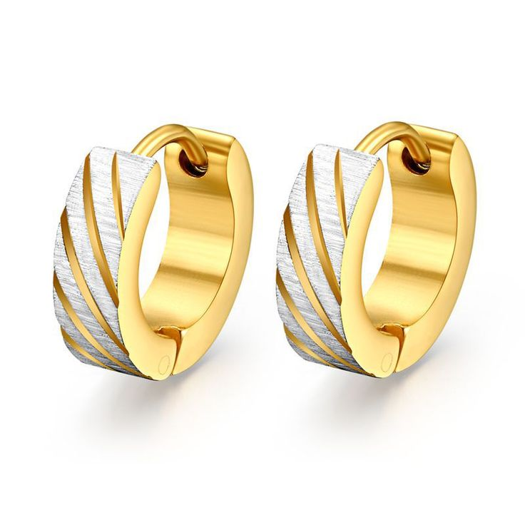 Cheap earrings 14k, Buy Quality earrings diy directly from China earring rack Suppliers:            Promotion 18K gold ring wedding rings for men women stainless steel couple jewelry wholesaleUS $ 1.99/pi