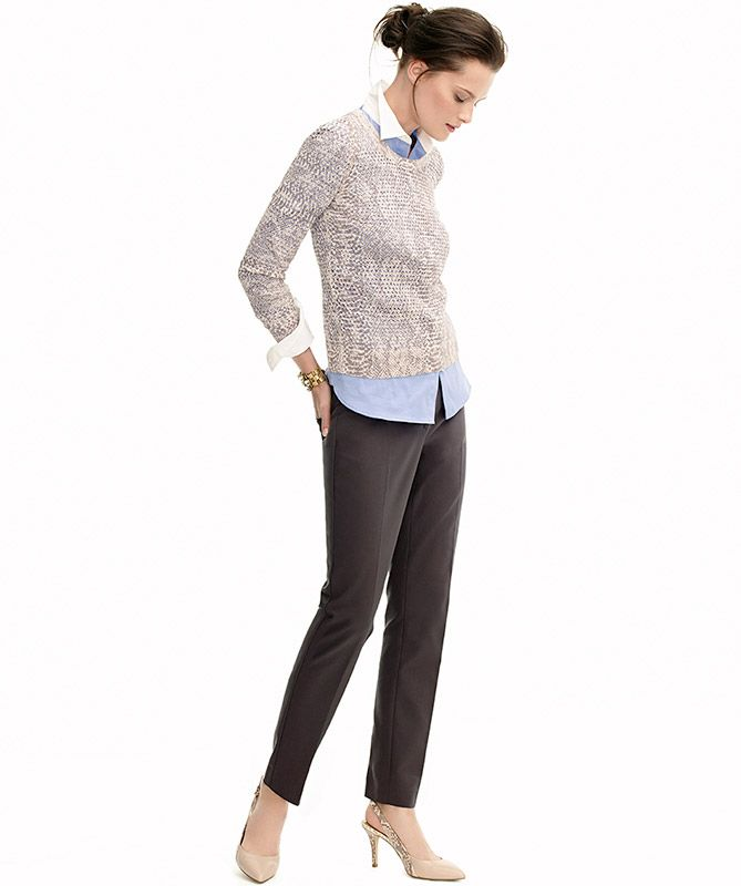 Ann Taylor professional look     Professional Style Guide via Levo