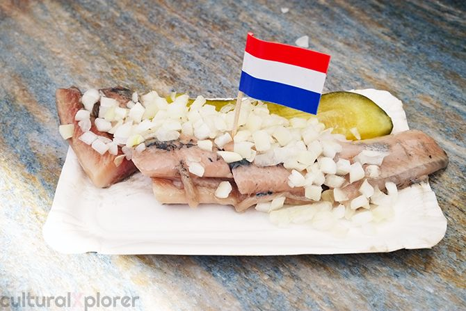 Hollandse Nieuwe Haring at the Albert Cuypmarkt  Cultural Xplorer Eating Food Dutch People Like