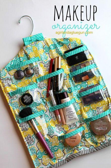 organizador de maquillaje colgante