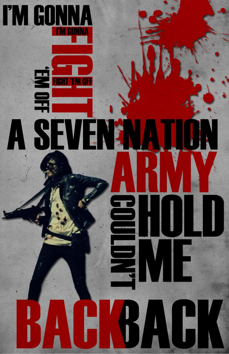seven nation army drums pdf