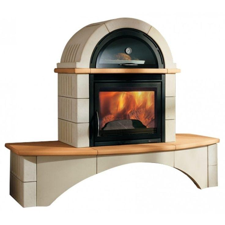 Дровяная печь La Nordica Falo 2C  Массивная каминная печь с облицовкой из майолики. Прикаминная скамья из майолики. Заменяемый модуль для выпечки - эмалированная печь-духовка. Стеклокерамика выдерживает температурное воздействие до 750 С.  Печь соединяет отопительную и варочную функцию, поэтому Вы сможете не только согреть свой дом, но и приготовить обед во вместительном духовом шкафу.  #дровяная #печь #nordica #falo майолика #соблицовкой #печьдуховка #арткамин #духовойшкаф {{AutoHashTags}}