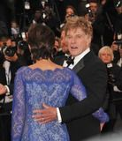 """Photos and Pictures - Robert Redford & wife Sibylle Szaggars at gala premiere for his movie """"All Is Lost"""" at the 66th Festival de Cannes. May 22, 2013 Cannes, France Picture: Paul Smith / Featureflash"""