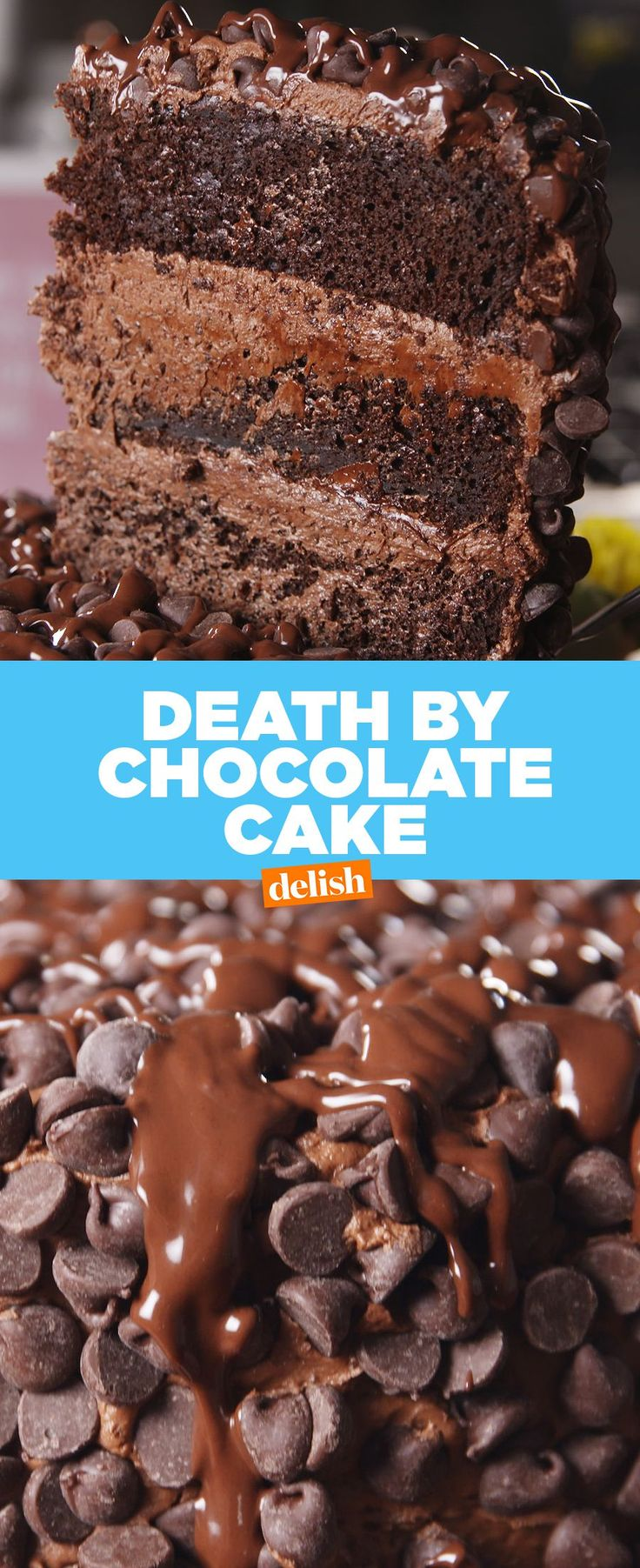 Death by Chocolate CakeDelish