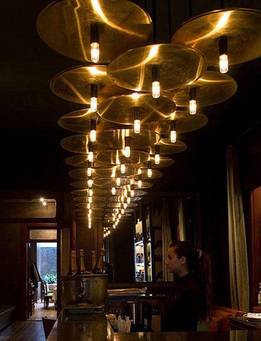 Lighting concept for Al Dente Restaurant/Beirut/Lebanon/by PSLAB
