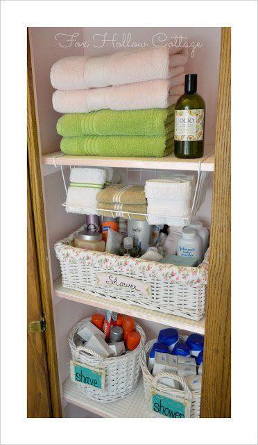 Marvelous 13 Brilliant Linen Closet Organization Ideas