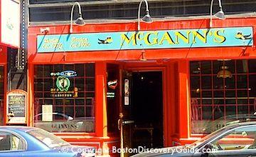 Boston bars near TD Garden - McCanns & the Fours