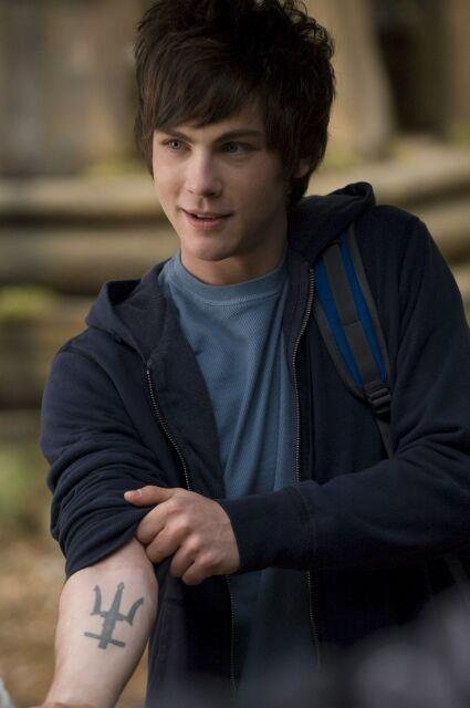 Logan Lerman as Percy Jackson! he's not percy, but he is cute