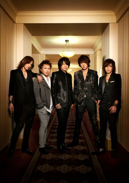 Luna Sea - 25th Anniversary Band Photo