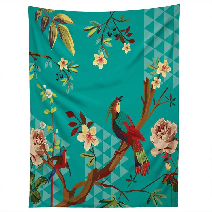 Juliana Curi Chinese Bird Tapestry   DENY Designs Home Accessories