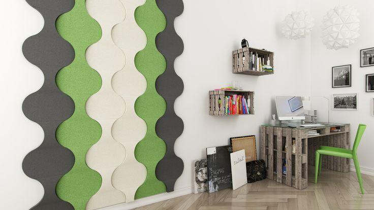 Home decor, wall design, pomysł na ścianę, aranżacja ścian, design, ściana 3d, panele ścienne; Fluffo, Fabryka Miękkich Ścian