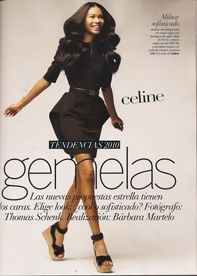 CHANEL IMAN IN SPANISH VOGUE