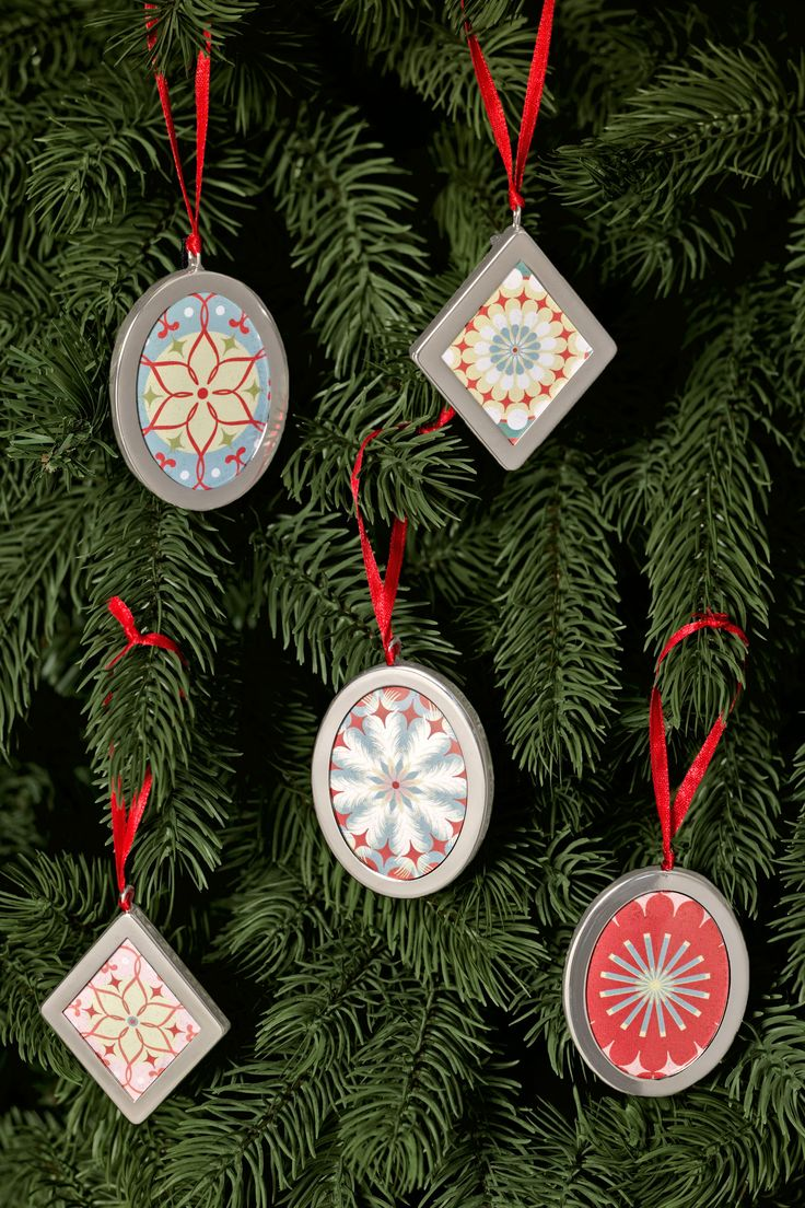 Frame Ornaments  - CountryLiving.com