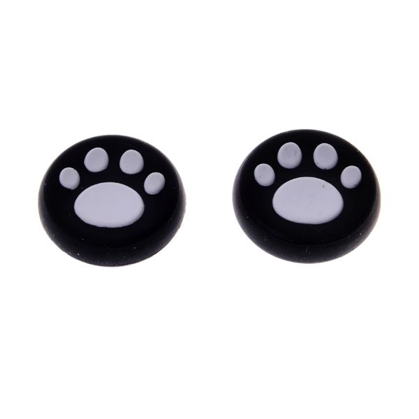 ==> [Free Shipping] Buy Best New arrival 4pcs a lot White silicone caps thumbstick grip joystick cover for PS4 Online with LOWEST Price | 32325424881