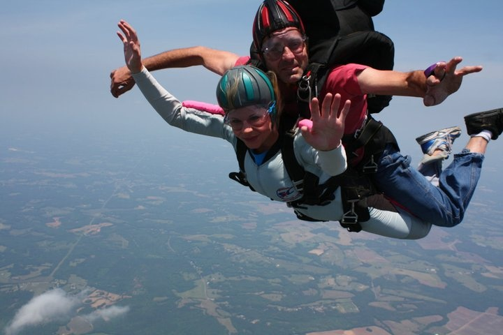 Skydive Carolina in Chester, SC. But did it in new Zealand.....amazing