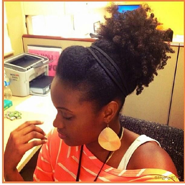 Natural Hairstyles For Work 239 Best Natural Hair Styles For Corporate Work Images On Pinterest
