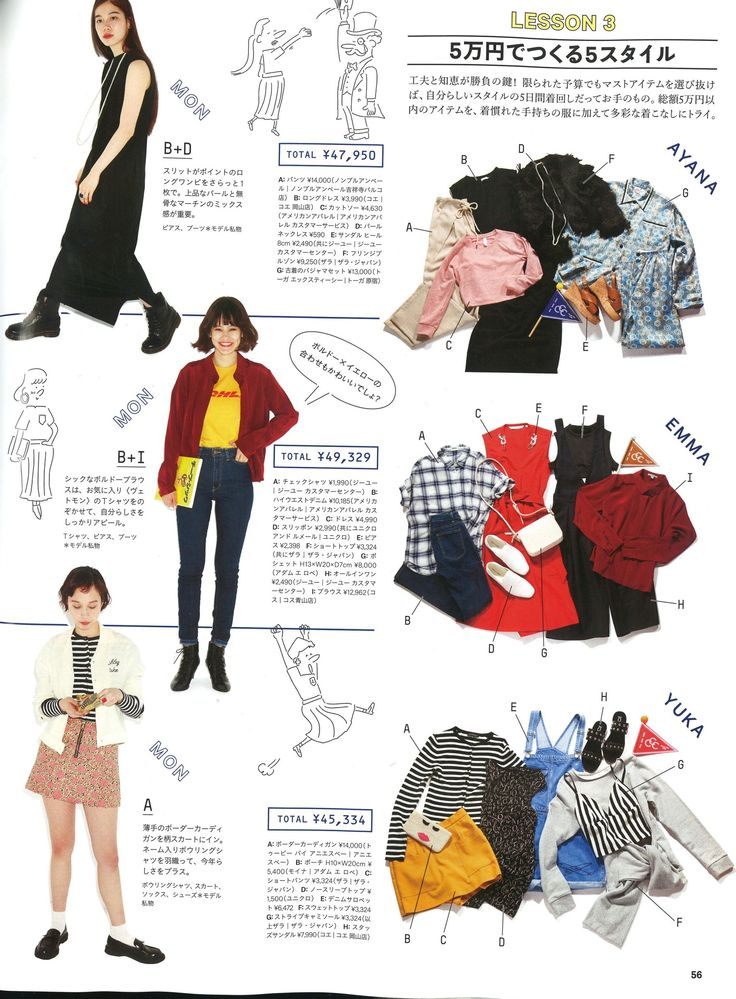 American Apparel feature in Ginza Magazine for June 2016