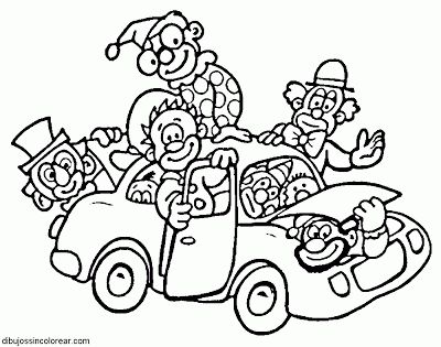 thanksgiving coloring pages funny clowns - photo#22